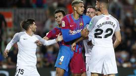 Barcelona ratings v Granada: Araujo 9, Memphis 7, De Jong, Busquets and Coutinho 5
