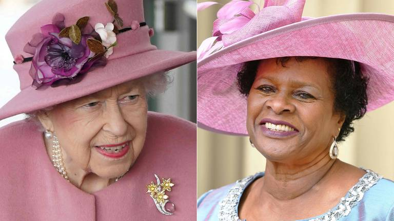 An image that illustrates this article Barbados elects president to replace Queen Elizabeth as head of state