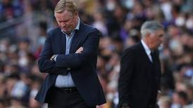 Ronald Koeman's Barcelona dream has become a nightmare after collision with fans