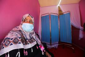 'I was afraid but I'm glad I did it': women in Gaza urged to check for breast cancer