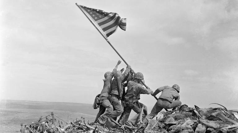 An image that illustrates this article Battle of Iwo Jima, 1945 - in pictures