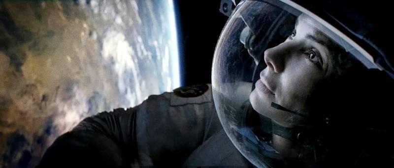 Sandra Bullock and George Clooney in Gravity, 2013 CREDIT: Courtesy Warner Bros. *** Local Caption ***  al17oc-Gravity-cover-2.jpg