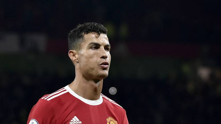 An image that illustrates this article Cristiano Ronaldo: United fans deserve better after Liverpool drubbing