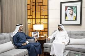 UAE leaders congratulate King Salman on Saudi Arabia's National Day