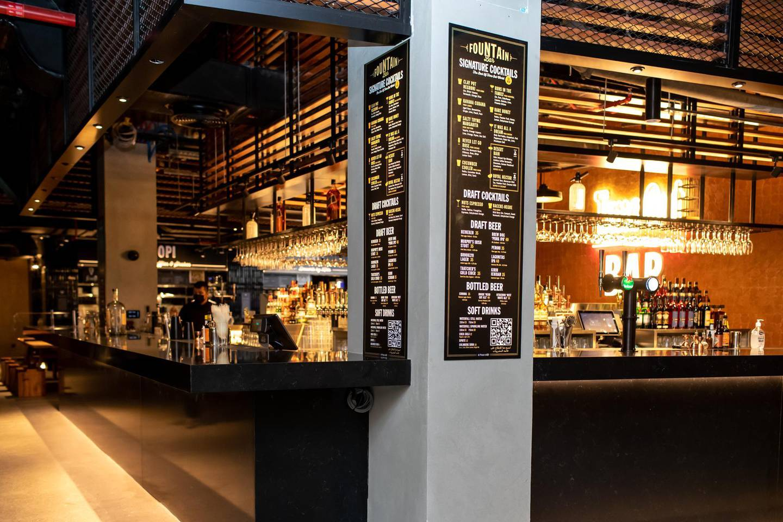 TOM Dubai Fountian Bar. Courtesy Time Out/ Jack Wilkinson