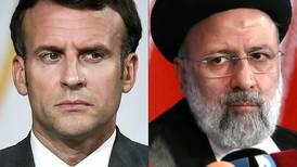 Raisi tells France's Macron nuclear talks must guarantee Iran's 'rights'