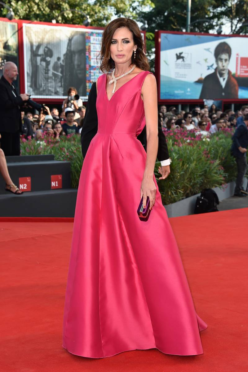VENICE, ITALY - AUGUST 27:  Nieves Alvarez attends the Opening Ceremony and 'Birdman' premiere during the 71st Venice Film Festival on August 27, 2014 in Venice, Italy.  (Photo by Pascal Le Segretain/Getty Images)
