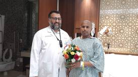 Indian boxer wins cancer fight after having 50 tumours removed from his stomach