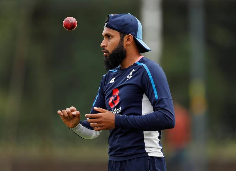 Cricket - England Nets - Edgbaston, Birmingham, Britain - July 30, 2018   England's Adil Rashid during nets   Action Images via Reuters/Andrew Boyers
