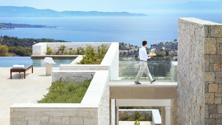 An image that illustrates this article Luxury Aman villas offer the ultimate Greek getaway – international property of the week
