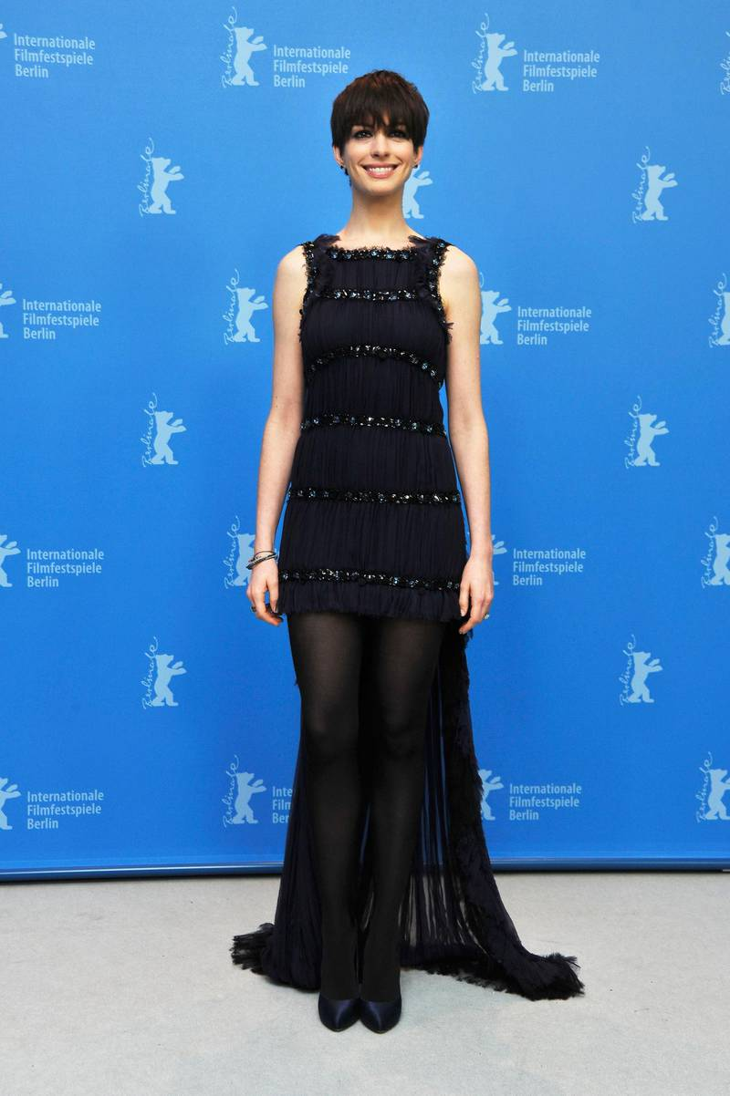 BERLIN, GERMANY - FEBRUARY 09:  Anne Hathaway attends the 'Les Miserables' Photocall during the 63rd Berlinale International Film Festival at Grand Hyatt Hotel on February 9, 2013 in Berlin, Germany.  (Photo by Pascal Le Segretain/Getty Images)