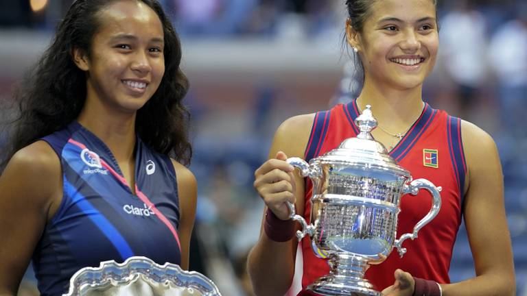 An image that illustrates this article Teenagers competing at the Grand Slam was exceptional