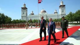 Erdogan visits Jordan as Syria's neighbours rekindle relations