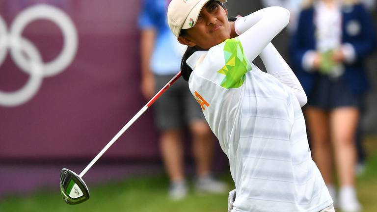 An image that illustrates this article Aditi Ashok: Winning Dubai Moonlight Classic 'would mean a lot'