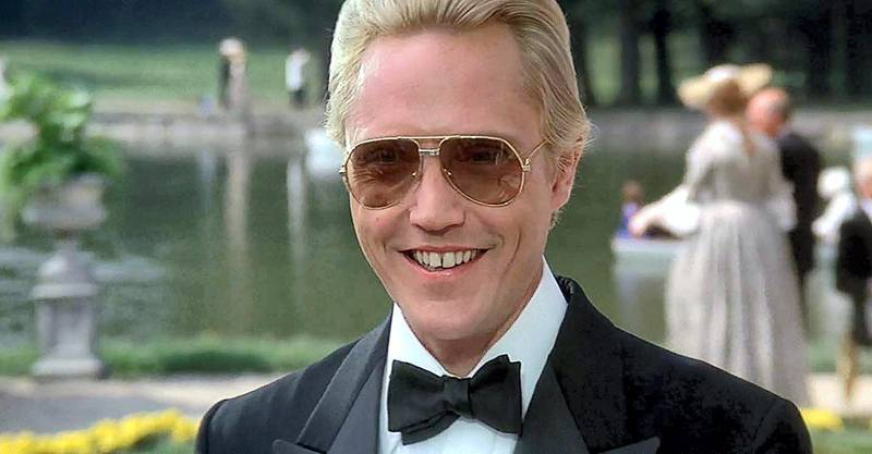 Christopher Walken in A View to a Kill (1985)
