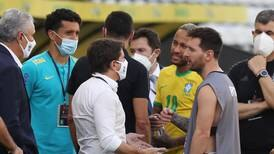 Fifa ponders next move after Argentina v Brazil match abandoned due to Covid chaos