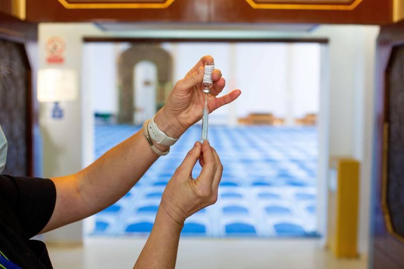 Covid 19 Vaccination program at Regents Park Mosque
