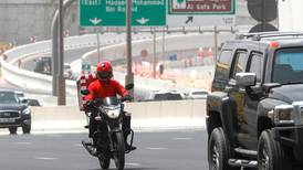 Dubai delivery drivers banned from the fast lane