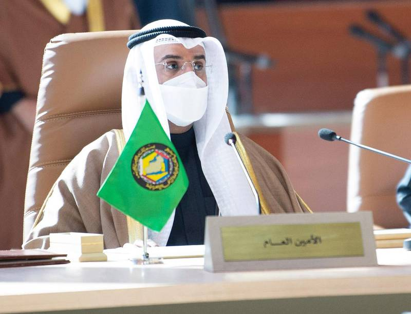 Dr Nayef Al Hajraf, Secretary General of the GCC at the summit. Courtesy Ministry of Foreign Affairs - Saudi Arabia