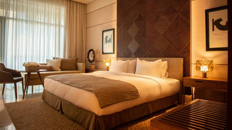 An image that illustrates this article The House Hotel Jeddah CityYard - in pictures