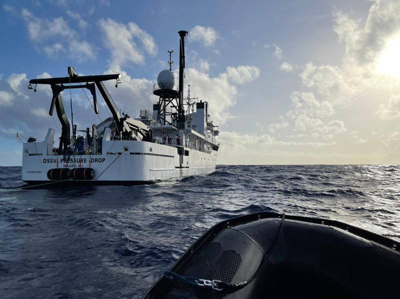 Hamish Harding attempts to traverse the deepest point in the world, the Challenger Deep, 11km below sea level.
