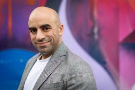 At great pains: Ahmed Hankir advocates mental health with art and soul