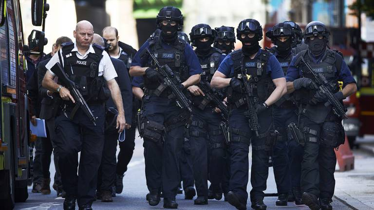 An image that illustrates this article UK 'ignoring report on laws that allow groups to glorify terrorism'