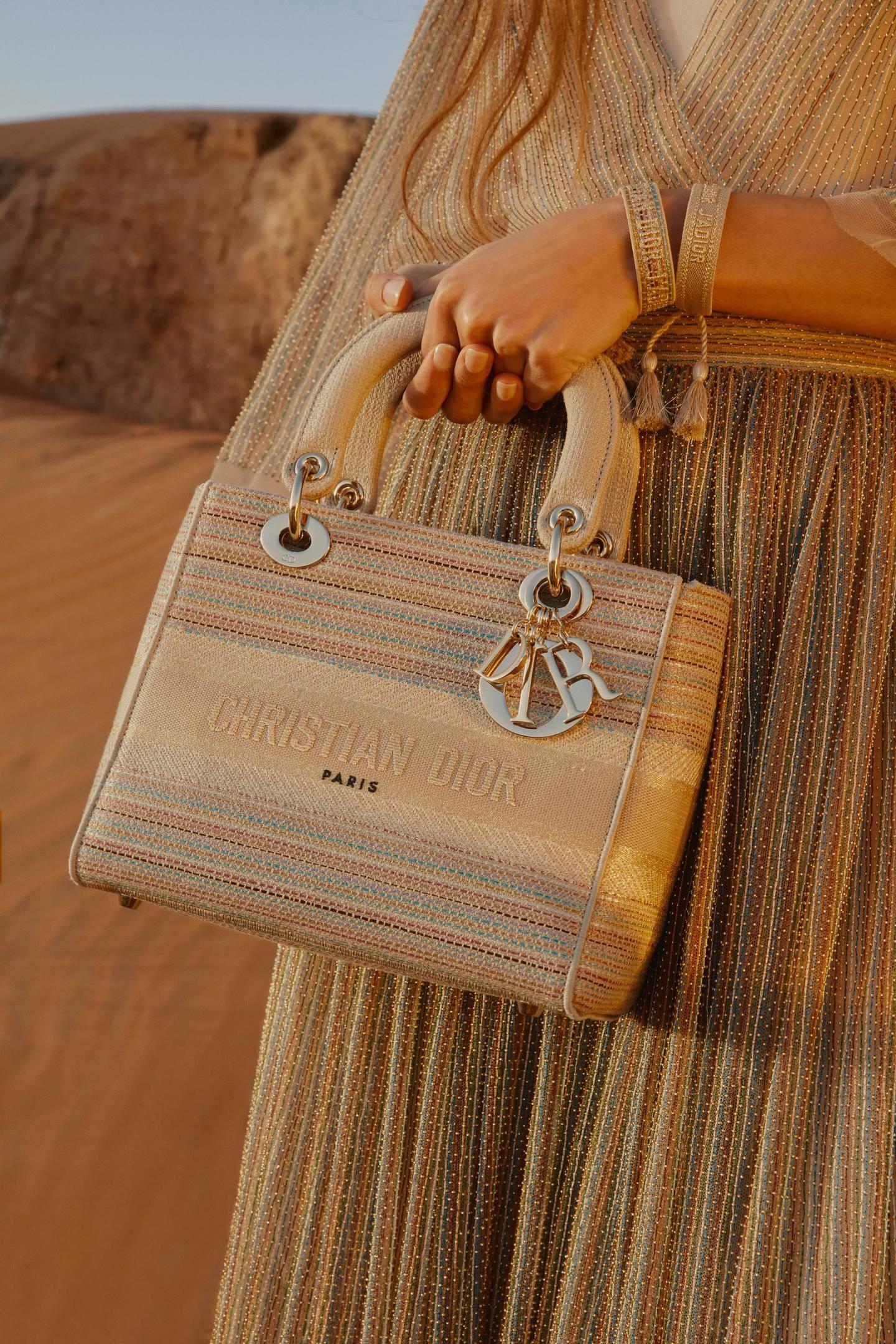 The Dior Gold capsule collection. Courtesy MazenAbusrour