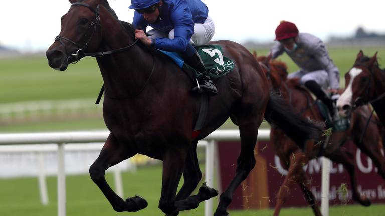 An image that illustrates this article Native Trail strikes for Godolphin in Group 1 National Stakes