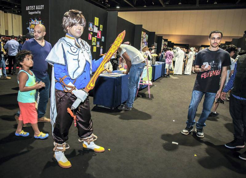 November 24, 2017. Games Con Middle East at ADNEC.Victor Besa for The NationalACRequested by: Clare Dight