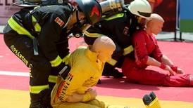 Top firefighters show what it takes to save lives in Abu Dhabi contest
