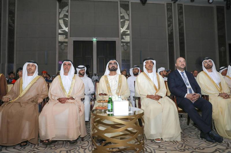 ABU DHABI, 19th March, 2019 (WAM) -- Sheikh Mohammed bin Rashid Al Maktoum, Vice President, Prime Minister and Ruler of Dubai, attends the second edition of the Global Space Congress commenced today in Abu Dhabi. Wam