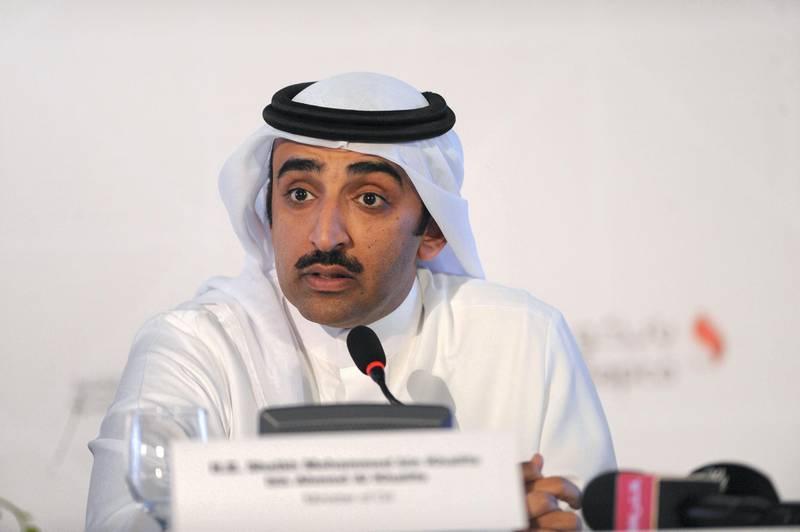 H.E. Shaikh Mohammed bin Khalifa Al Khalifa, Minister of Oil, Bahrain. Photo by Phil Weymouth for The National.