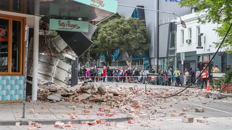 An image that illustrates this article Earthquake in Australia triggers panic