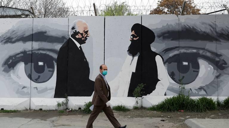 An image that illustrates this article Afghans say betrayal is sole legacy of departing US envoy Zalmay Khalilzad