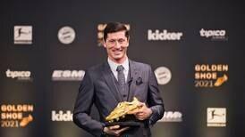 Robert Lewandowski wins Golden Shoe: Europe's top scorers of 2020/21 - in pictures