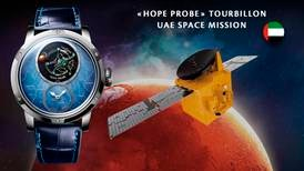 Swiss company Louis Moinet launches unique watch inspired by UAE's Hope Probe