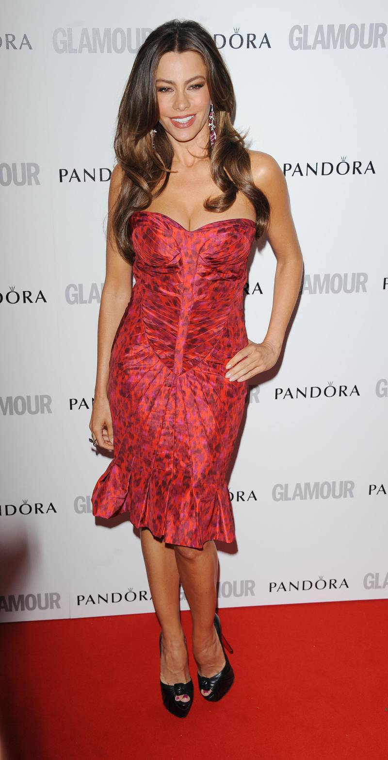 LONDON, UNITED KINGDOM - MAY 29: Sofia Vergara attends Glamour Women of the Year Awards 2012 at Berkeley Square Gardens on May 29, 2012 in London, England. (Photo by Stuart Wilson/Getty Images)