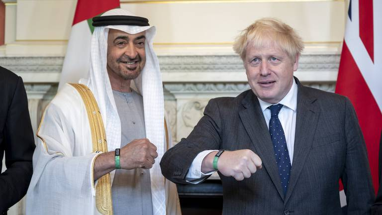 An image that illustrates this article Text of joint UAE-UK communique after launch of Partnership for the Future
