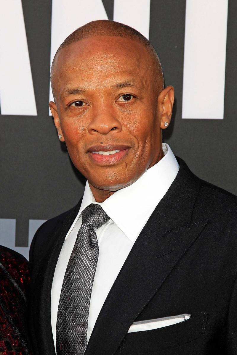 epa06044826 US producer Andre Young aka Dr Dre arrives for the HBO premiere of the miniseries 'The Defiant Ones' at the Paramount Theater at Paramount Studios in Los Angeles, California, USA, 22 June 2017. The show debuts in the US 09 July 2017.  EPA/NINA PROMMER