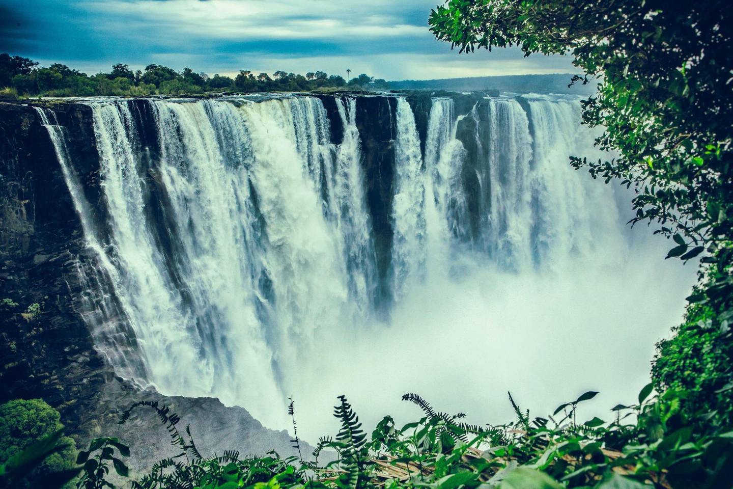 Victoria falls. Getty Images