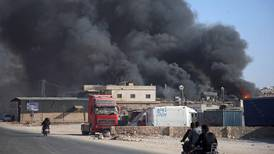 Commercial centre of Syria's Idlib province comes under regime attack
