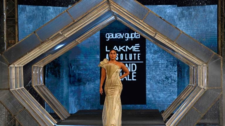 An image that illustrates this article All the Bollywood stars on the FDCI x Lakme Fashion Week catwalk