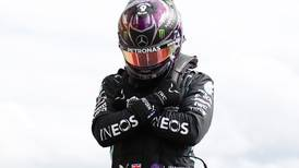 Formula One: Lewis Hamilton pays tribute to Chadwick Boseman after securing pole position at Belgian Grand Prix
