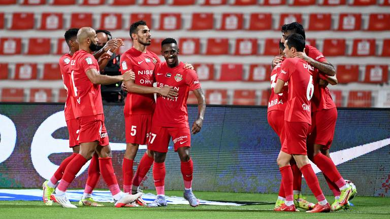 An image that illustrates this article Shabab Al Ahli mount fightback to beat Al Jazira