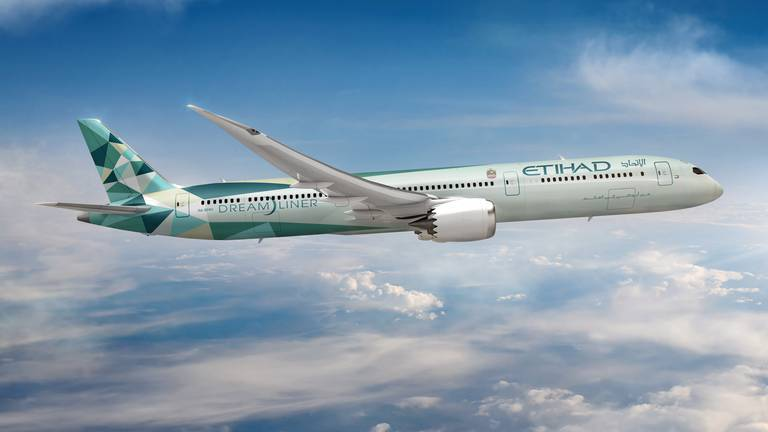 An image that illustrates this article Etihad's next ecoFriendly Greenliner will fly from London to Abu Dhabi