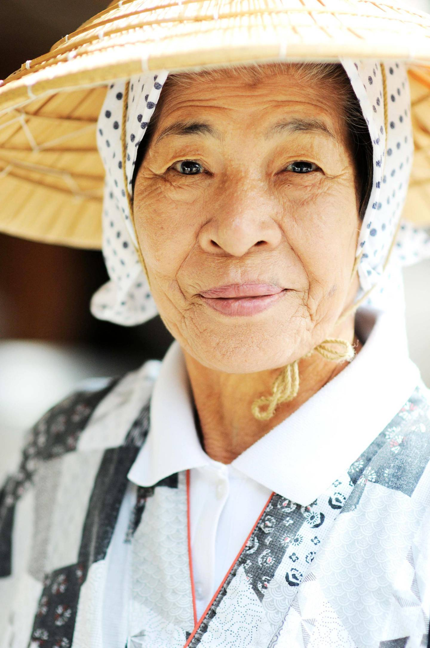 An Okinawan lady in traditional clothing. Getty Images