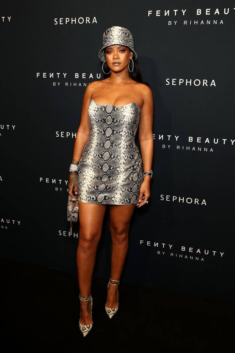 SYDNEY, AUSTRALIA - OCTOBER 03:  Rihanna attends the Fenty Beauty by Rihanna Anniversary Event on October 03, 2018 in Sydney, Australia. (Photo by Brendon Thorne/Getty Images)
