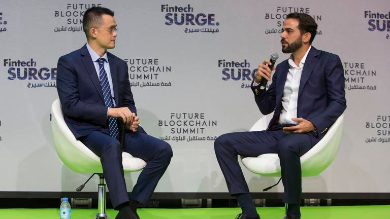 An image that illustrates this article Cryptocurrency regulatory frameworks could take decades to implement, Binance chief says