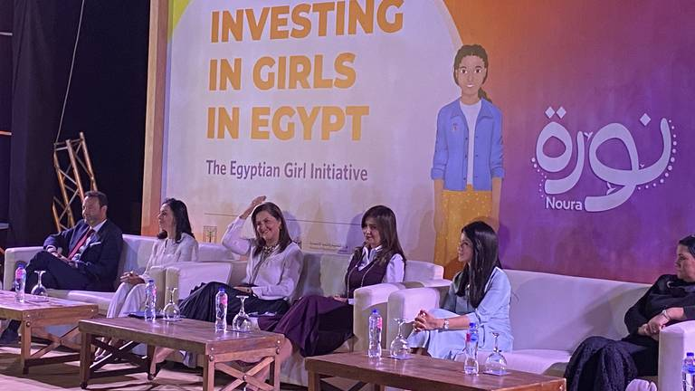 An image that illustrates this article 8,000 Egyptian girls to join 40-week UN equality programme
